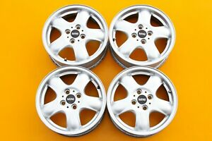 Mini Cooper Clubman 2007 2014 Silver 15 Set Of 4 Oem Wheels Rims 71183 504