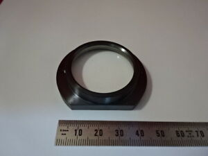 Zeiss Germany Axiotron Brass Mounted Lens Microscope Part Optics As Is q5 a06