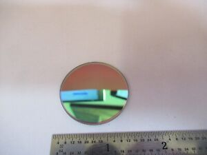 Optical Mil Spec Dichroic Mirror Filter Laser Optics As Pictured 4b a 08