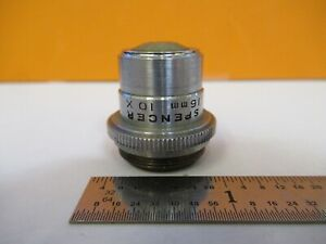 Ao Spencer 10x 16mm Objective Lens Microscope Optics As Pictured 85 b 83