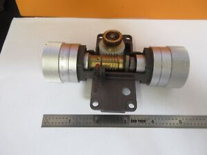 Leitz Germany Set Of Knobs Dialux Microscope Part As Pictured 14 ft 31