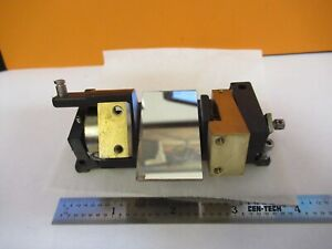 Zeiss Germany Axiotron Mounted Mirror Assem Microscope Part As Pictured 47 a 33