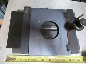 Semprex Xy Table Specimen Wafers Stage Microscope Part As Pictured tc 4