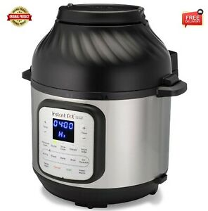 Instant Pot Duo Crisp And Air Fryer 6 Quart 11 in 1 One touch Multi use Cooker