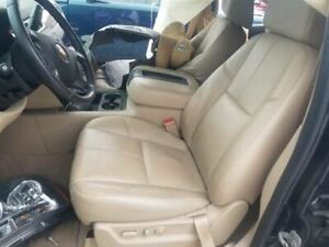 2007 08 Chevy Suburban Driver Left Front Bucket Seat Tan Leather An3 Option Heat