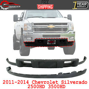 Front Lower Valance Textured Extension For 2011 2014 Silverado 2500hd 3500hd
