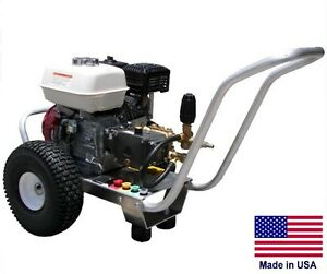 Pressure Washer Commercial Portable 3 Gpm 3200 Psi 8 Hp Honda Gp