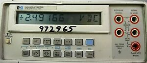 hp Agilent 3468a Digits True Rms Bench Multimeter free Shipping