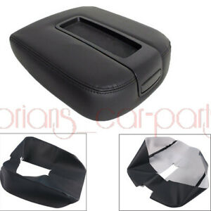 Fit For 07 13 Chevy Tahoe Avalanche Gmc Leather Center Console Armrest Lid Cover
