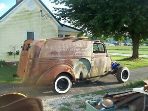 1939 Ford Panel Delivery Truck Project 1938 39 Street Rod Jalopy Trog Rat Rod