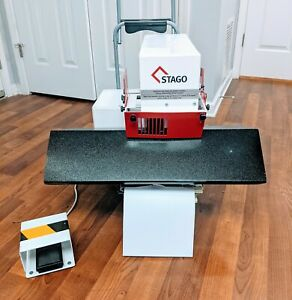 Stago Hm 15 Heavy Duty Electric Flat And Saddle Stapler Commercial Industrial