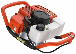 52cc 2 stroke Gasoline Gas One Man Post Hole Digger Earth Auger Machine 2hp 01