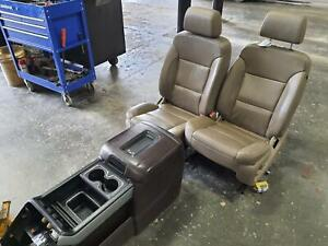 2015 2018 Sierra Silverado 2500 3500 Front Seat Bucket And Bench Seat Opt An3