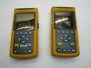 Qty 2 Fluke 43b Power Quality Analyzer Meter Parts And Repair T9 d11