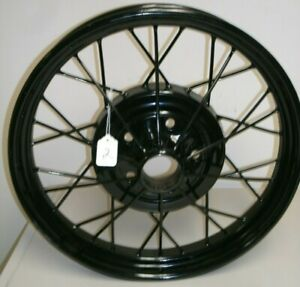 Ford Model A Wire Wheel Spoked Rim 21 X 3 Original Repainted