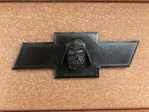 Chevy Bowtie Darth Vader Truck Emblem Replacement 6 3 Inch Wide