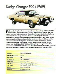 1969 Dodge Charger 500 Hemi Article Must See