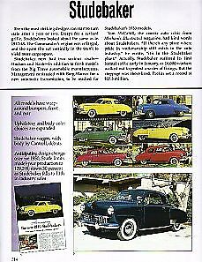 1949 Studebaker Commander Champion Article Must See