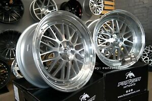 New 20 Inch 5x112 Forzza Spot Bbs Lm Style Deep Dish Wheels For Bmw G Mercedes