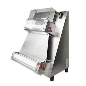 370w Electric Automatic Pizza Dough Roller Sheeter Pizza Making Machine Safety