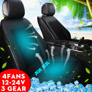 4 Built in Cooling Fan Car Truck Air Conditioned Cooling Car Seat Cushion