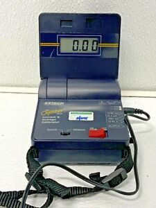 Extech Oyster 412355a Current Voltage Calibrater meter W carrying Case 53c