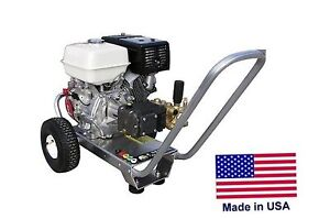 Pressure Washer Portable Cold Water 4 Gpm 4200 Psi 13 Hp Honda Eng Hp