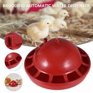 2pcs Chicken Poultry Drinking Water Bowl Automatic Water Feeder For Farm Home