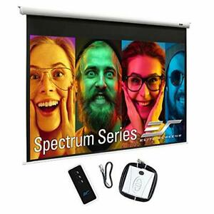 Spectrum Electric Motorized Projector Screen With Multi Aspect Ratio Function