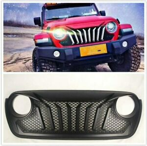 New Style Beast Front Bumper Grille For 2018 Jeep Wrangler Jl Gladiator Jt