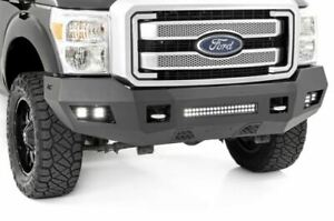 S d Heavy duty Front Led Bumper For Ford 11 16 F 250 f 350