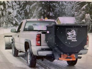Saltdogg Buyers Products Tgs06 10 Cubic Foot Tailgate Spreader