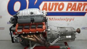 6 2 Hellcat Engine Pullout With Auto Transmission 2016 Dodge Charger