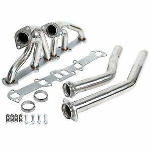 Stainless Performance Headers Exhaust Fits Ford Mercury L6 144 170 200 250 Cid
