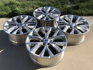 22 Ford Expedition F150 Oem Factory Stock Wheels Rims 6x135 Limited Max