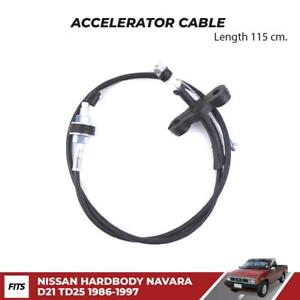 Accelerator Throttle Cable Fits Nissan Hardbody D21 Td25 Pickup Ute 1986 97 New
