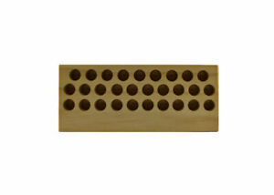 Scm America Wooden Da100 Collet Tray With 29 Slots