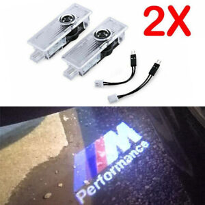 2pcs Car Door Led Light M Performance Logo Projector For Bmw 325 328 330 335