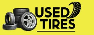 3ft X 8ft Used Tires 13 Oz Vinyl Banner Free Shipping new on Sale