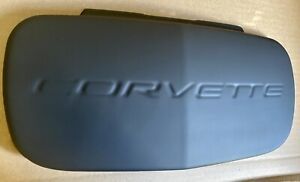 Primered C5 97 04 Plastic Corvette Front Cover Filler License Plate