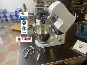New 7 Qt Mixer Egg Beater Variable Speed Commercial Bakery Kitchen Equipment Nsf