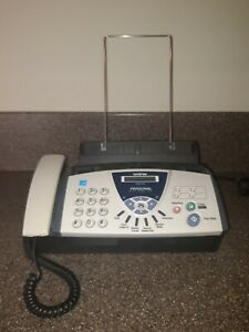 Brother Fax 575 Plain Paper Fax Phone And Copier Tested Free Shipping