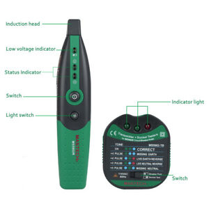 Ms5902 Circuit Breaker Finder Automatic Professional Socket Tester Portable