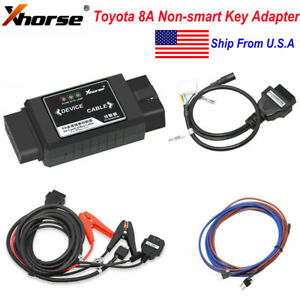 Xhorse Vvdi 8a Non smart Keys Lost Adapter Support Key Tool Max Mini Obd Tool