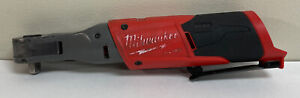 Preowned Milwaukee Fuel M12 Cordless 2557 20 3 8 Ratchet Tool Only