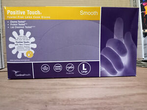Cardinal Health Positive Touch 8878 Latex Exam Gloves large