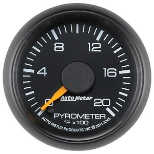 8345 Autometer 8345 Chevy Factory Match Electric Pyrometer Gauge Kit