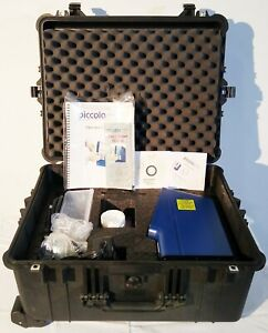 Abaxis Piccolo Xpress Chemistry Blood Analyzer With Accessories Pelican Case