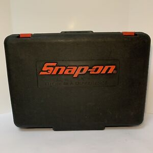 Snap On Impact Gun Ct4850ho Hard Carrying Case Only 18v Cordless Tool Protective