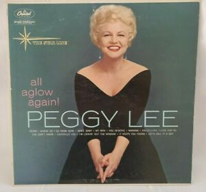 Peggy Lee All Aglow Again T1366 Capitol The Star Line Fever EXCELLENT $9.99